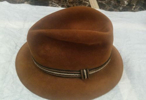 vintage knox new york hat