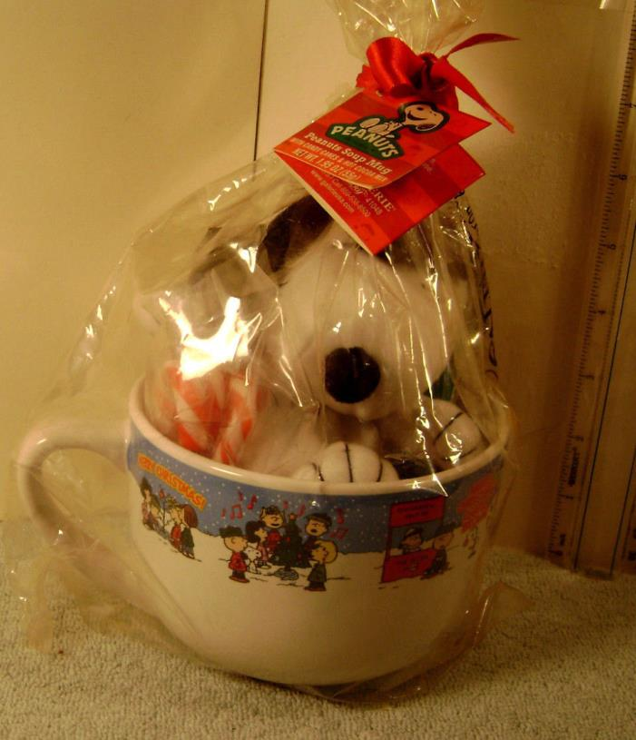 Peanuts Gang   Peanuts Gang Soup Mug MIP