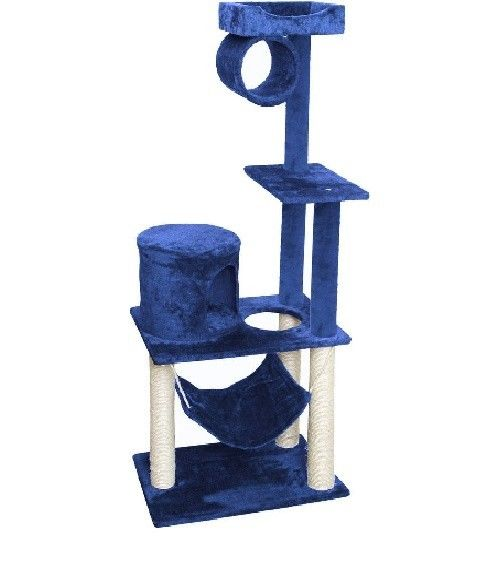 Deluxe Cat Tower Scratch Tree Furniture Post Condo Kitten House 55