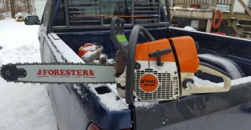 Stihl MS361 chainsaw runs good ( ms 361 360 341 034 036 pro super 340 )