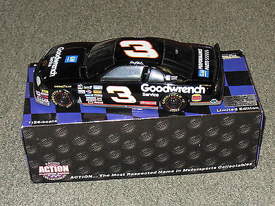 DALE EARNHARDT 1997  #3  GOODWRENCH    MONTE CARLO BANK  LIMITED EDITION