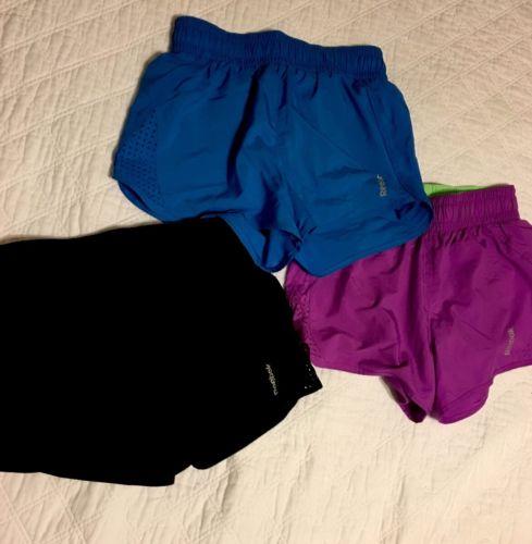 Women's Reebok Lot Running Shorts Size S