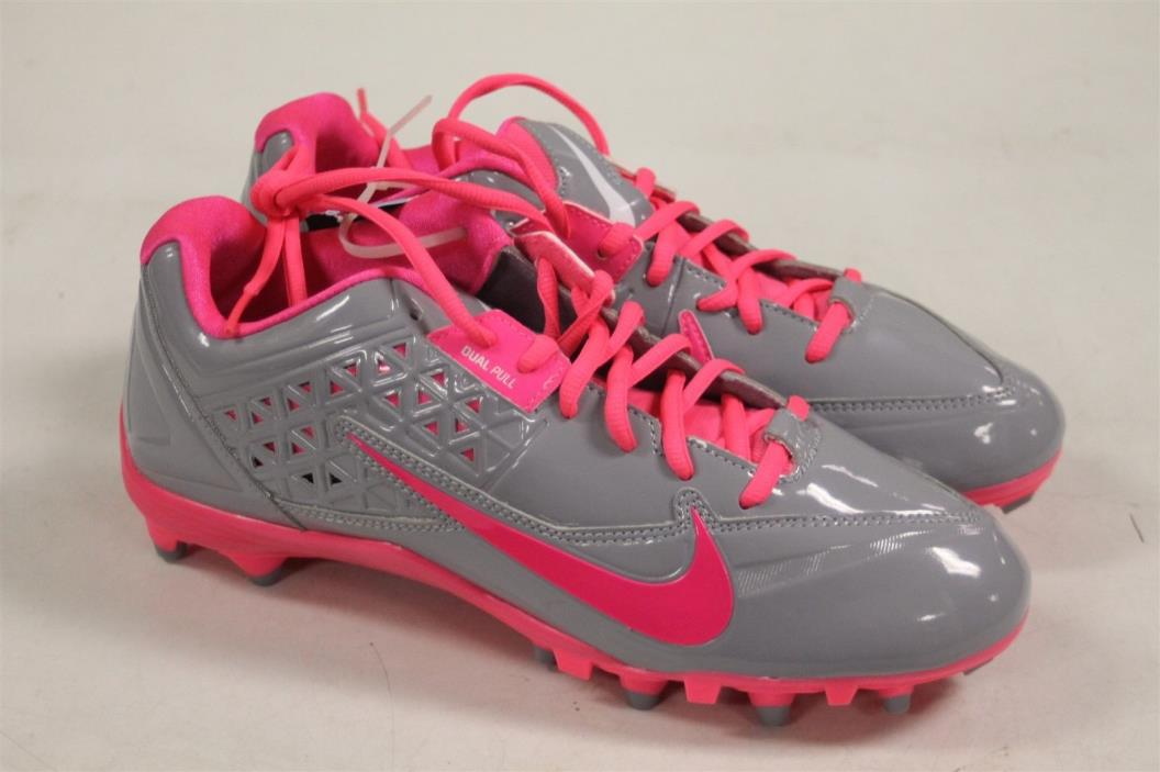 Nike Speedlax 4 Lacrosse Cleats Size 11.5 US Pink Flash New
