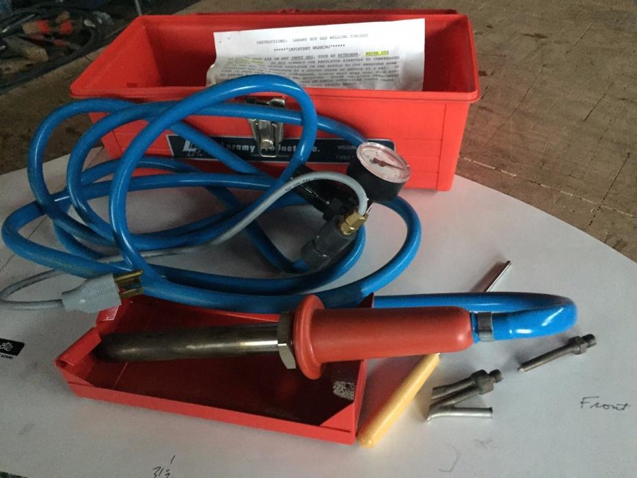 Plastic welder Laramy torch new condition