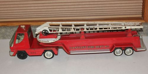 Vintage Ny-Lint Fire Truck Dept 6