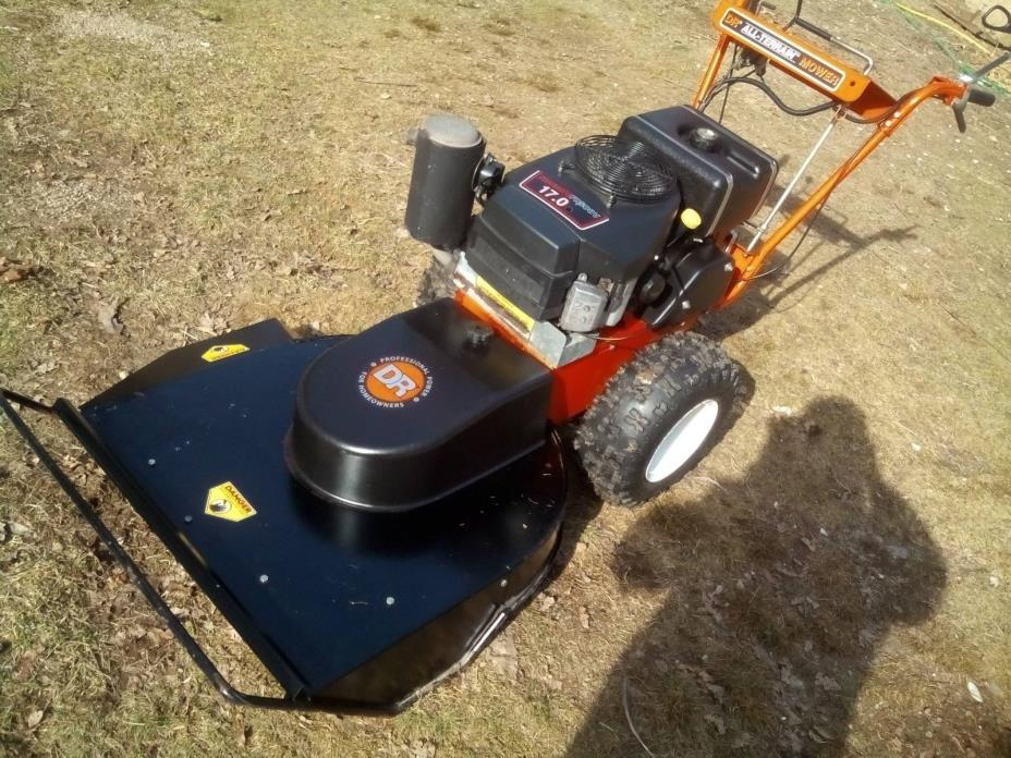 DR Field  Brush Mower 17.0 HP Kawasaki Commercial Engine  Outstanding Condition