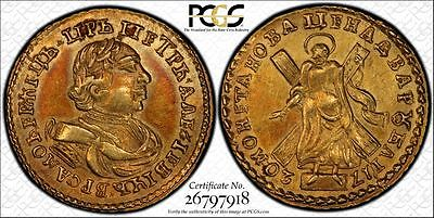 Gold 2 roubles1720 PCGS