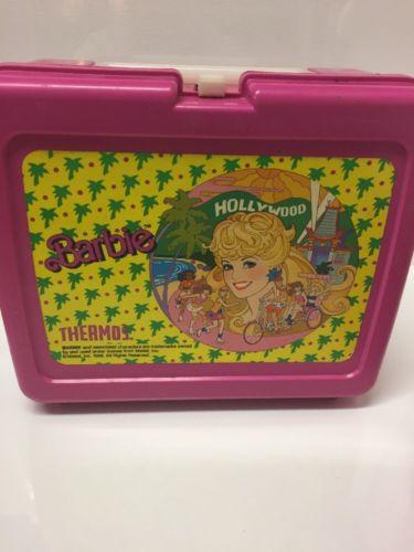 Barbie Hollywood 1988 Lunch Box