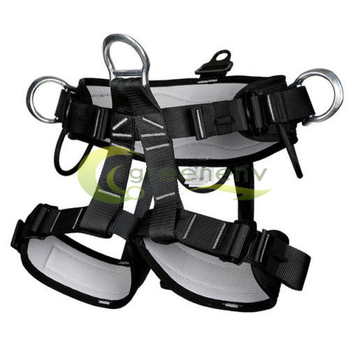 Safety Rock Climbing Rappelling Harness Seat Sitting Belt Gear Equip US NEW