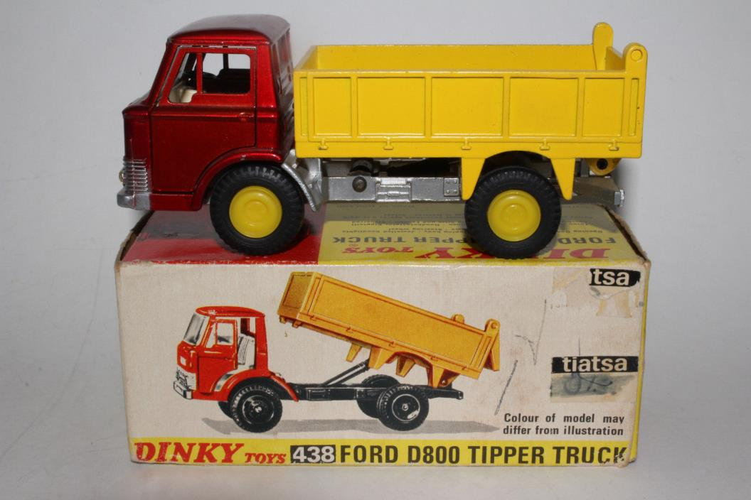 1970's Dinky #438 Ford Dump Truck with Original Box