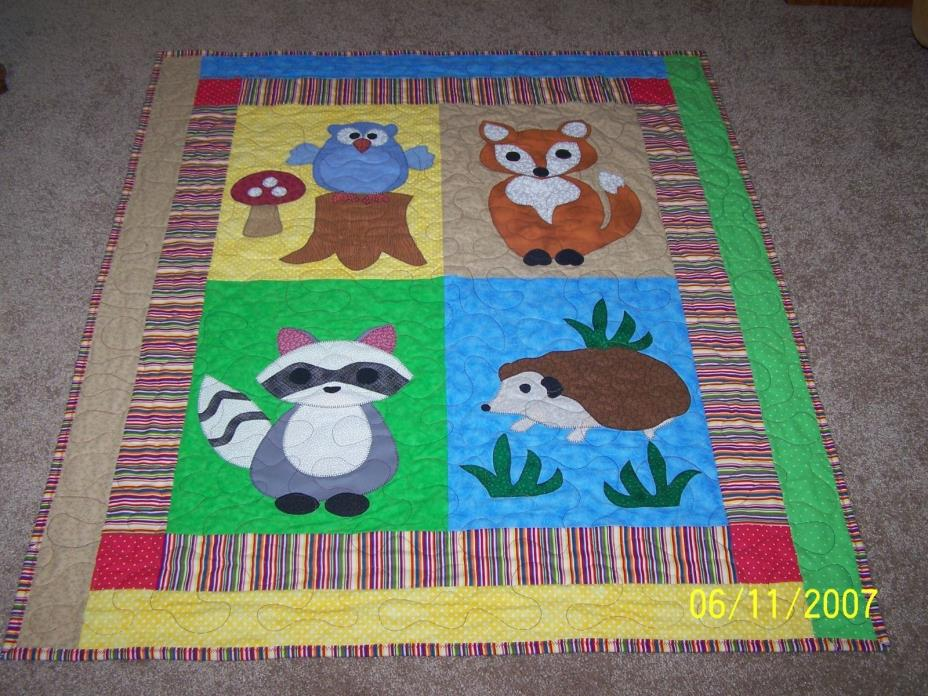 Affordable homemade baby quilts