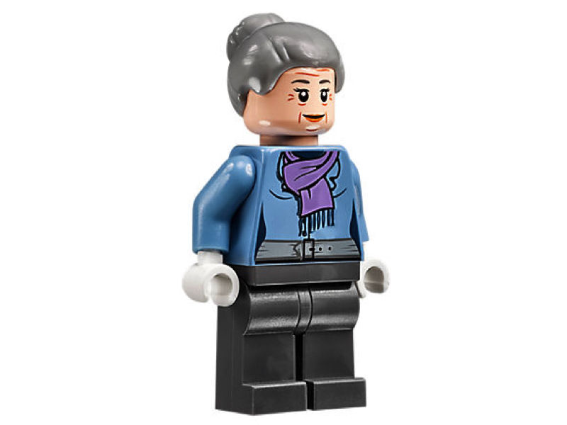 LEGO Marvel Super Heroes Spider-Man Aunt May Mini figure 76057