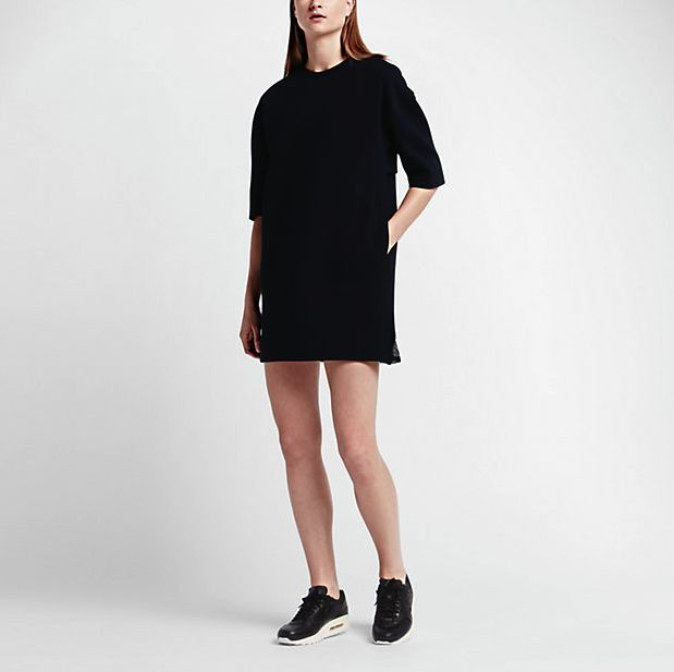 NikeLab Essentials Tech Fleece Women's Dress - Size XS Black 824086 010