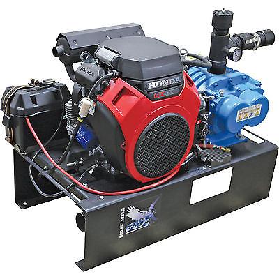Steel Eagle ASE-3105 Elec Start Pressure Washer Vacuum Unit 20HP Honda Engine