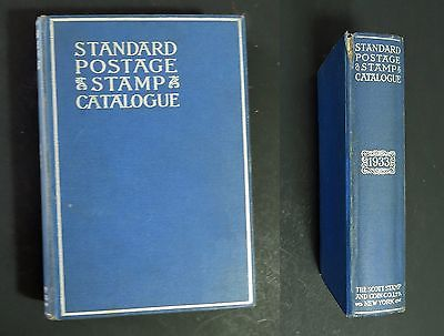 1933 Standard Postage Stamp Catalogue Scott Stamp & Coin Co.