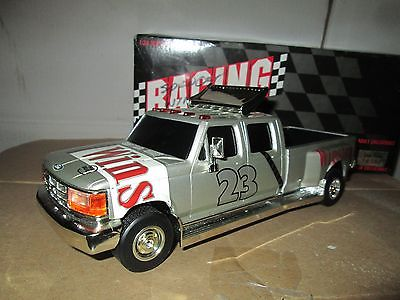 ford F 350  Dually 1 ton # 23 winston jimmy spencer 1:24 Truck Bank crewcab
