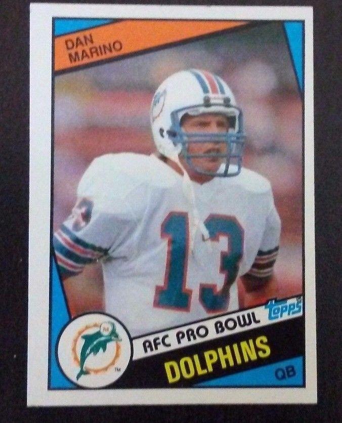 1984 Topps Dan Marino Rookie RC #123