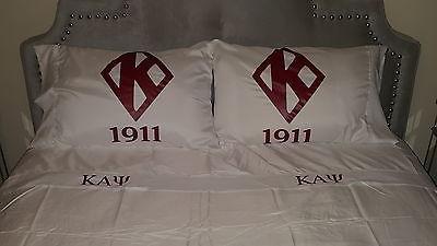 Kappa Alpha Psi queen size sheet set