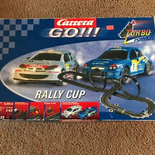 Carrera GO Rally Cup Speedway Race Set Slot Car Raceway