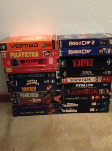 VHS Horror Lot Comedy Action