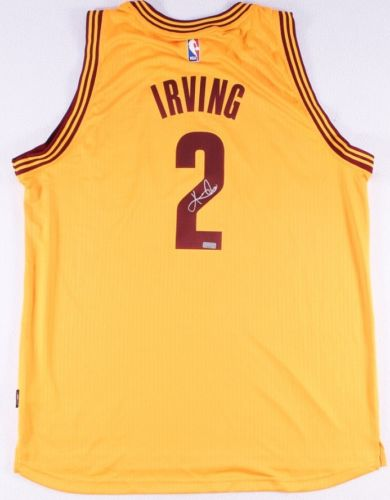 Kyrie Irving Signed Swing Man Jersey NBA Champions Cleveland Cavaliers