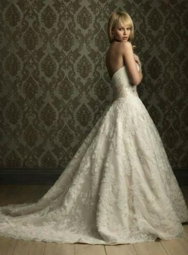 Leggenda Bridal Sweetheart Princess Sleeveless Ivory Wedding Dress