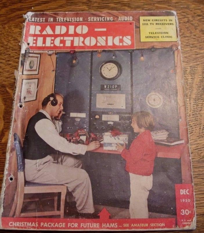 VINTAGE RADIO ELECTRONICS MAGAZINE DECEMBER 1950