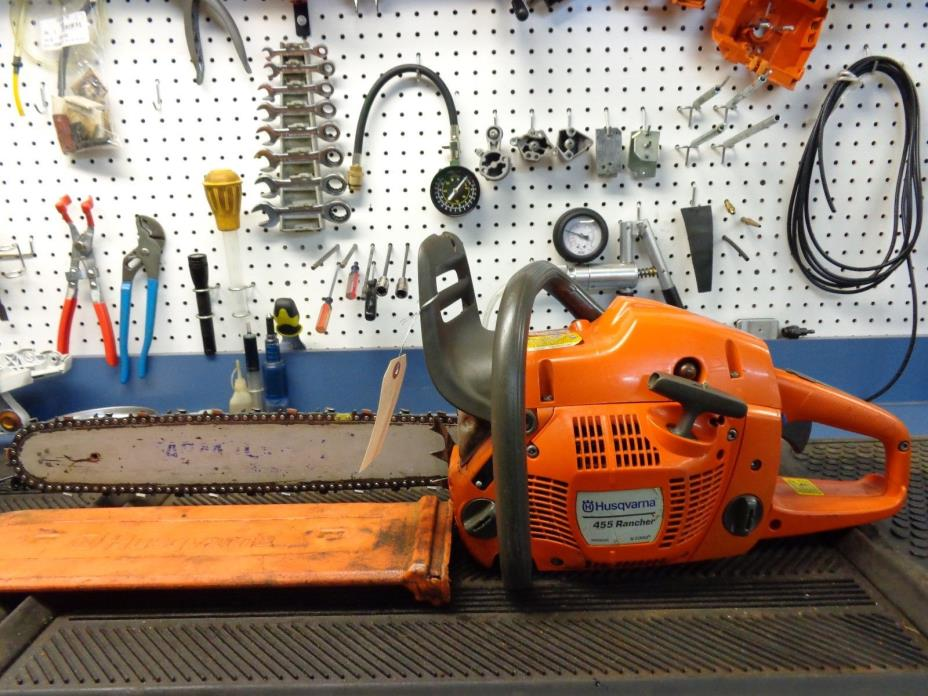 Husqvarna 455 Chainsaw 18