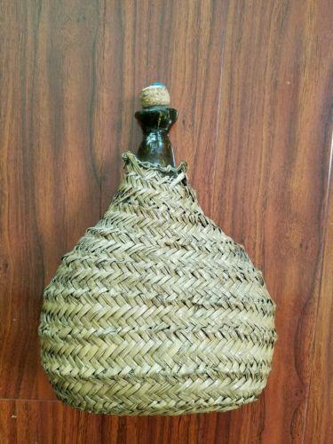 antique liquor or wine bottle