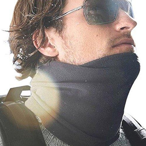 Face Maskï¼?BeautyVan Winter Fleece Scarf Neck Warmer Face Mask Hat Skiing