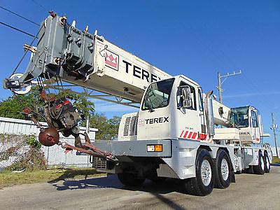 2006 TEREX T560-1 TRUCK CRANE 60 TON - 110' PLUS 33'-57' JIB - DETROIT DIESEL