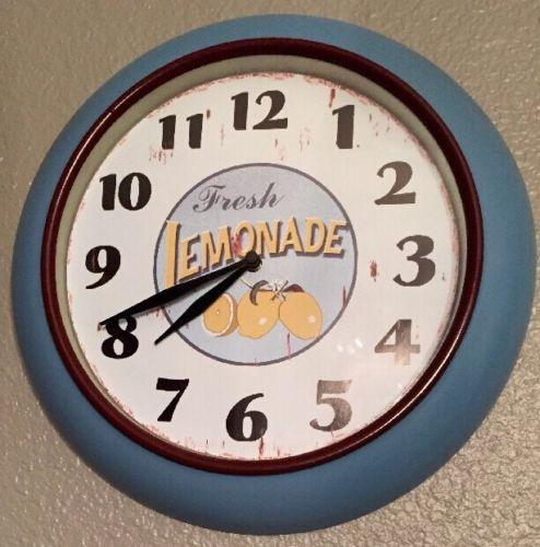 Fresh LEMONADE WALL CLOCK 12