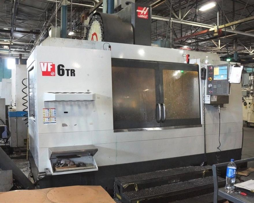 USED HAAS VF-6/50 CNC MILL 2012 5-AXIS 64.32.30
