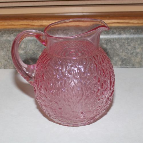 Vintage Rose Juice Pitcher