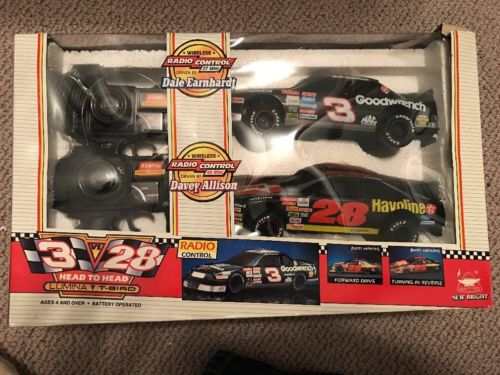 Dale Earnhardt vs. Davey Allison Wireless Remote Control Race Cars