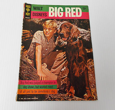 Disney BIG RED 1962 Gold Key 10026-503 Comic Book Dog