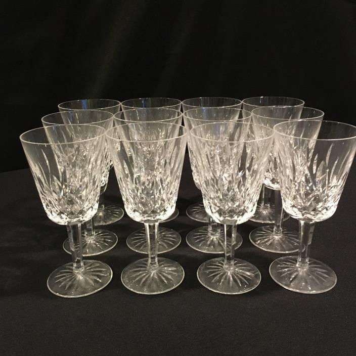Waterford Lismore Water Goblet Set of 12