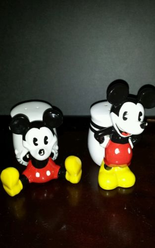 Mickey Mouse Salt & Pepper shakers