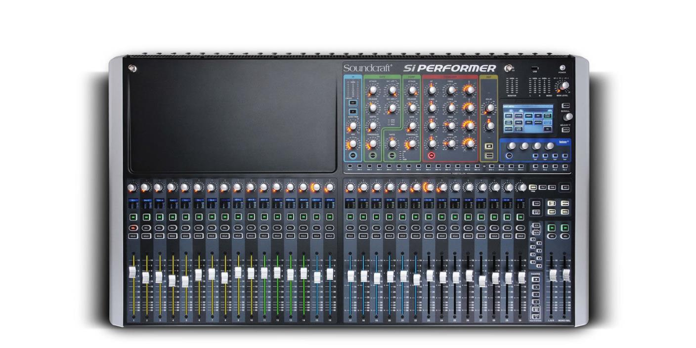 Soundcraft Si Performer 3 Digital Mixer with DMX Lighting Control - NEW!