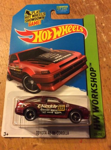 Hot Wheel Super Treasure Hunt Toyota AE-86 Corolla