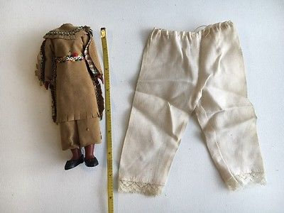 Native American Indian Girl Doll Clothing Outfit for Restoration & Bloomers