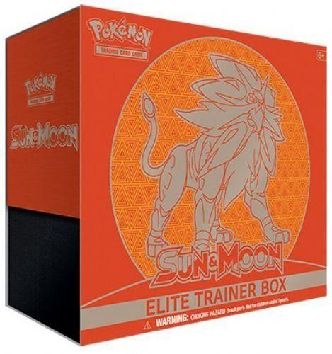 Pokemon Trading Card Game Sun & Moon Elite Solgaleo Trainer Box