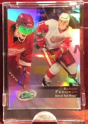 2002 Sergei Federov Etopps Hockey /1583 Cards Detroit Red Wings