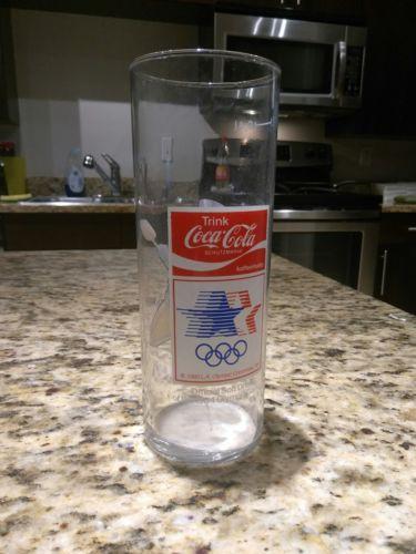 coca-cola olympics 1984 glass