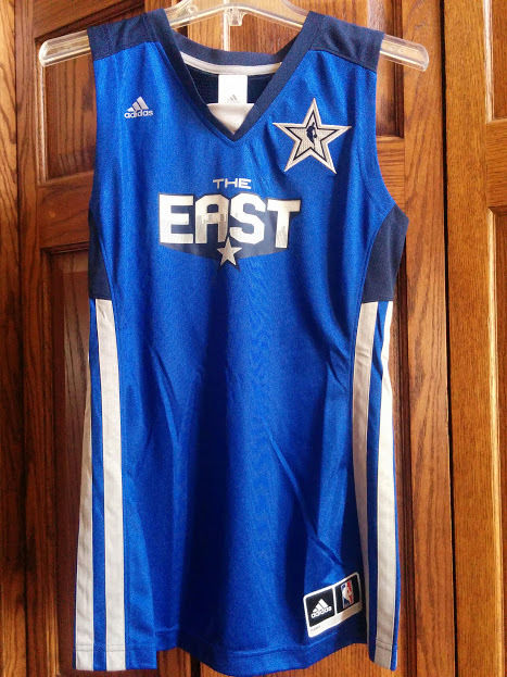 ADIDAS WNBA WOMEN NBA 2011 ALL STAR EAST BASKETBALL  JERSEY SHIRT Size M