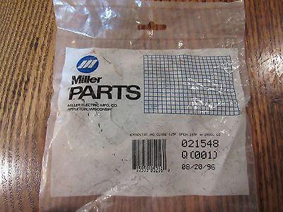 Miller Welder Thermostat part no.021548 new