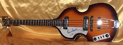 Beatles Paul McCartney Signed Autographed Hofner Bass Guitar (PSA/DNA and UACC)