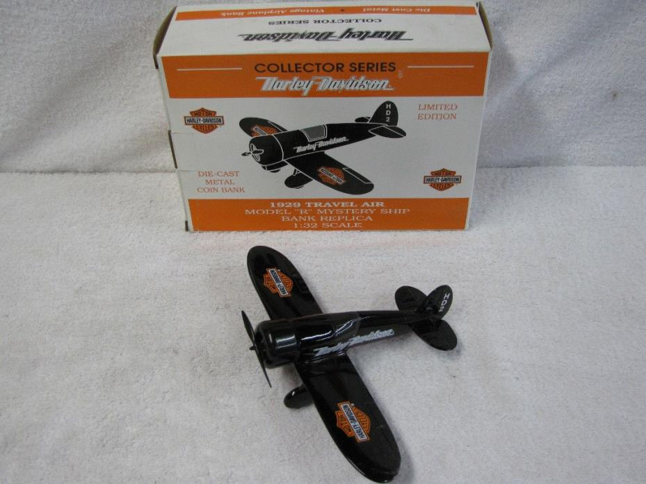 Harley Davidson Airplane Bank 1929 Travel Air