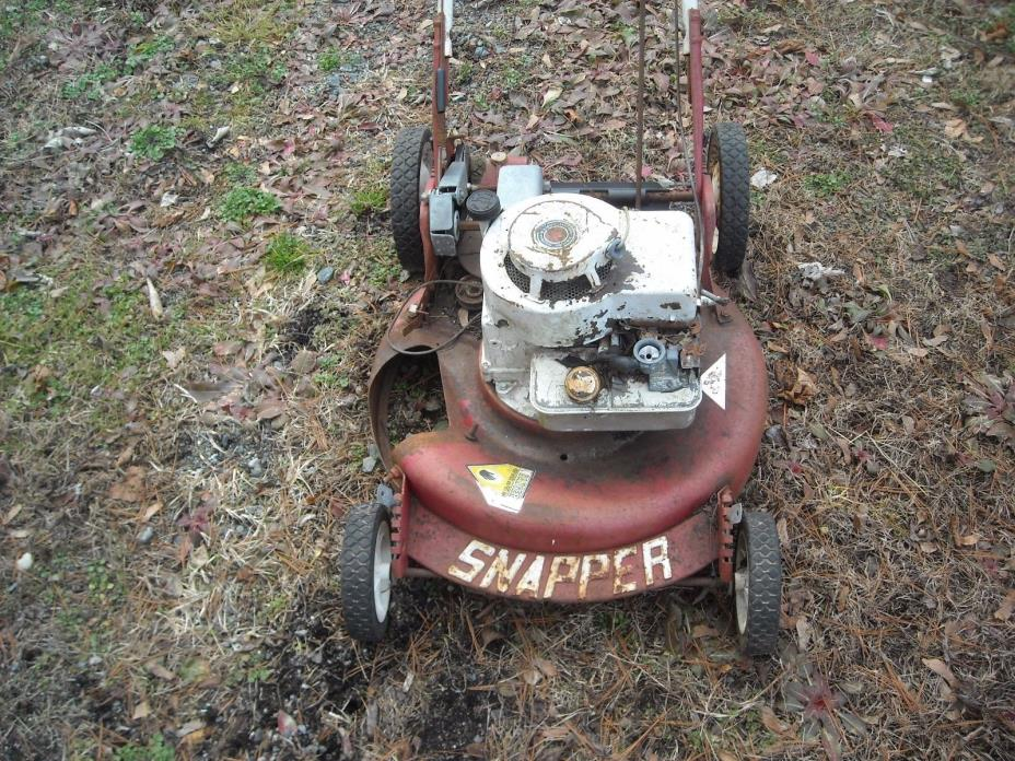 SNAPPER self propelled  lawn mower for parts