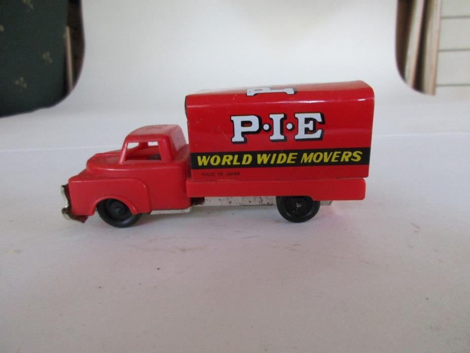 Vintage PIE Truck Line Friction Toy Truck Made in Japan